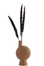 Madam Stoltz Vaas keramiek Roest H 23 cm