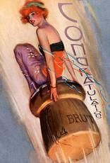 Madame Treacle Kaart groot 'Champagne'