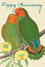 Madame Treacle Kaart groot 'Love birds'