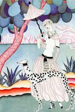 Madame Treacle Kaart groot glitter 'Dalmatian'