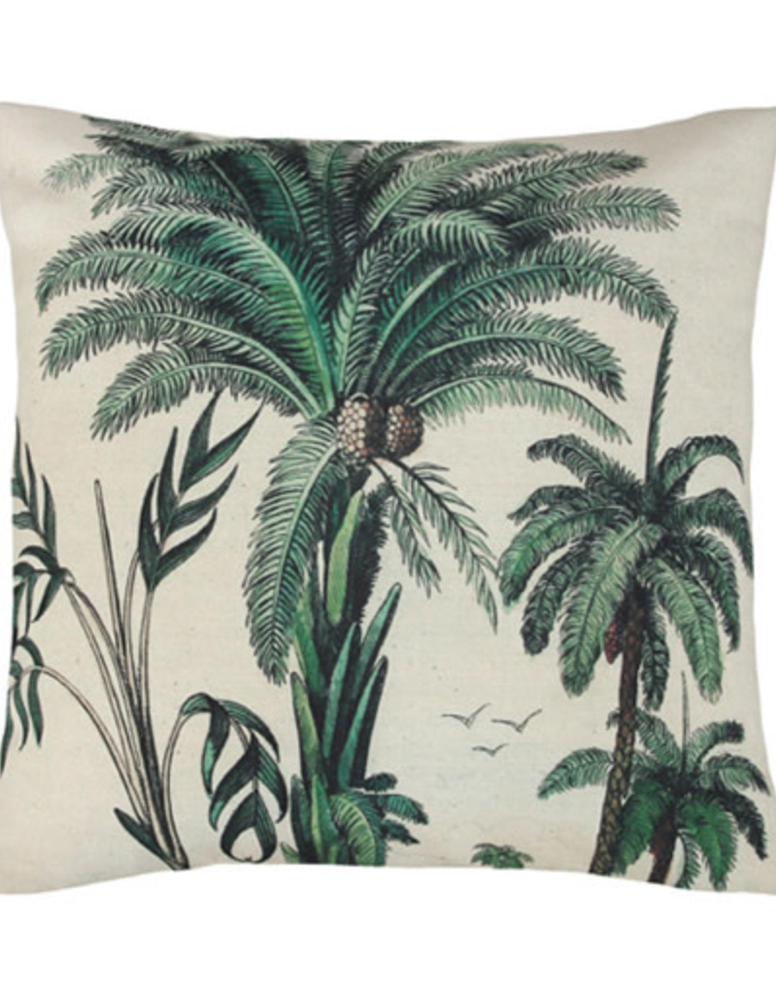 HK Living Kussen 45 x 45 cm Palm Trees