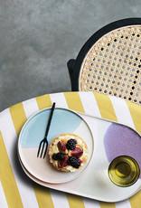HK Living Ovaal bord Gallery ceramics pink/lilac