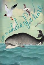 Madame Treacle Kaart groot 'Whale'