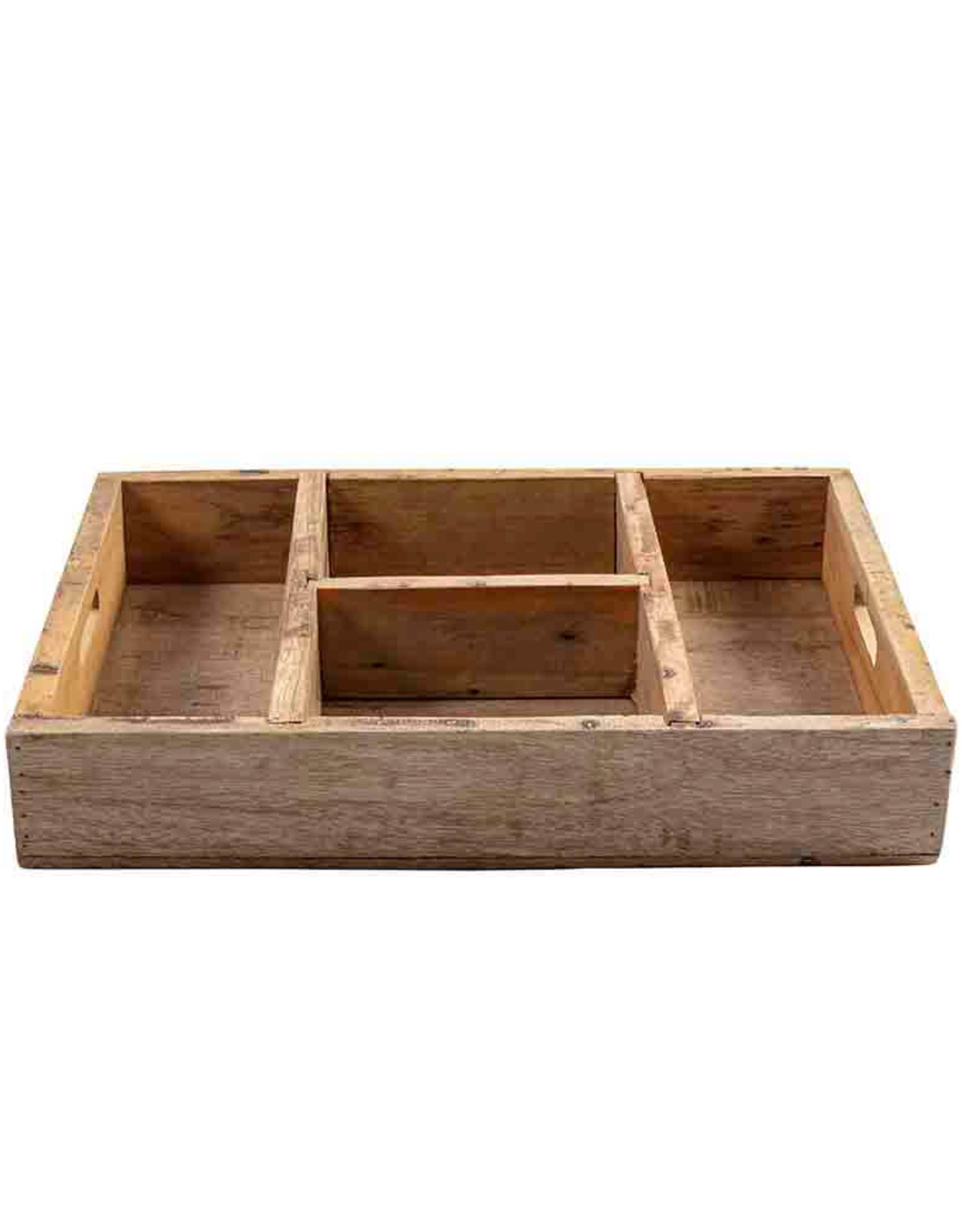 Original  Home Opberger gerecycleerd hout