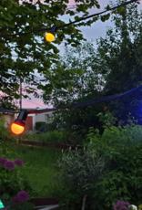 LED Buitenlampjes 10 meter lichtsnoer met  10 gekleurde lampjes