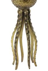 Lampvoet Octopus - brons
