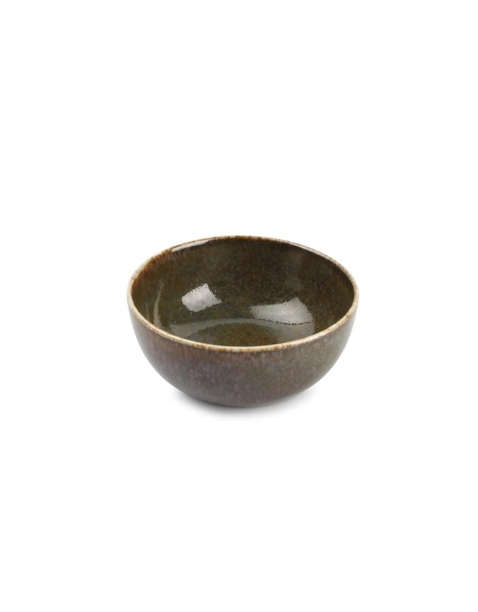 Kommetje Ø10 cm - Green Ombre Glaze