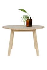 Eettafel rond Ø120 cm - eikenhout