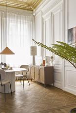 HK Living Pillar Dining Table White - Ø140 cm