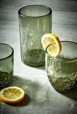 Whisky Glas 0.22L - Grey Crackle