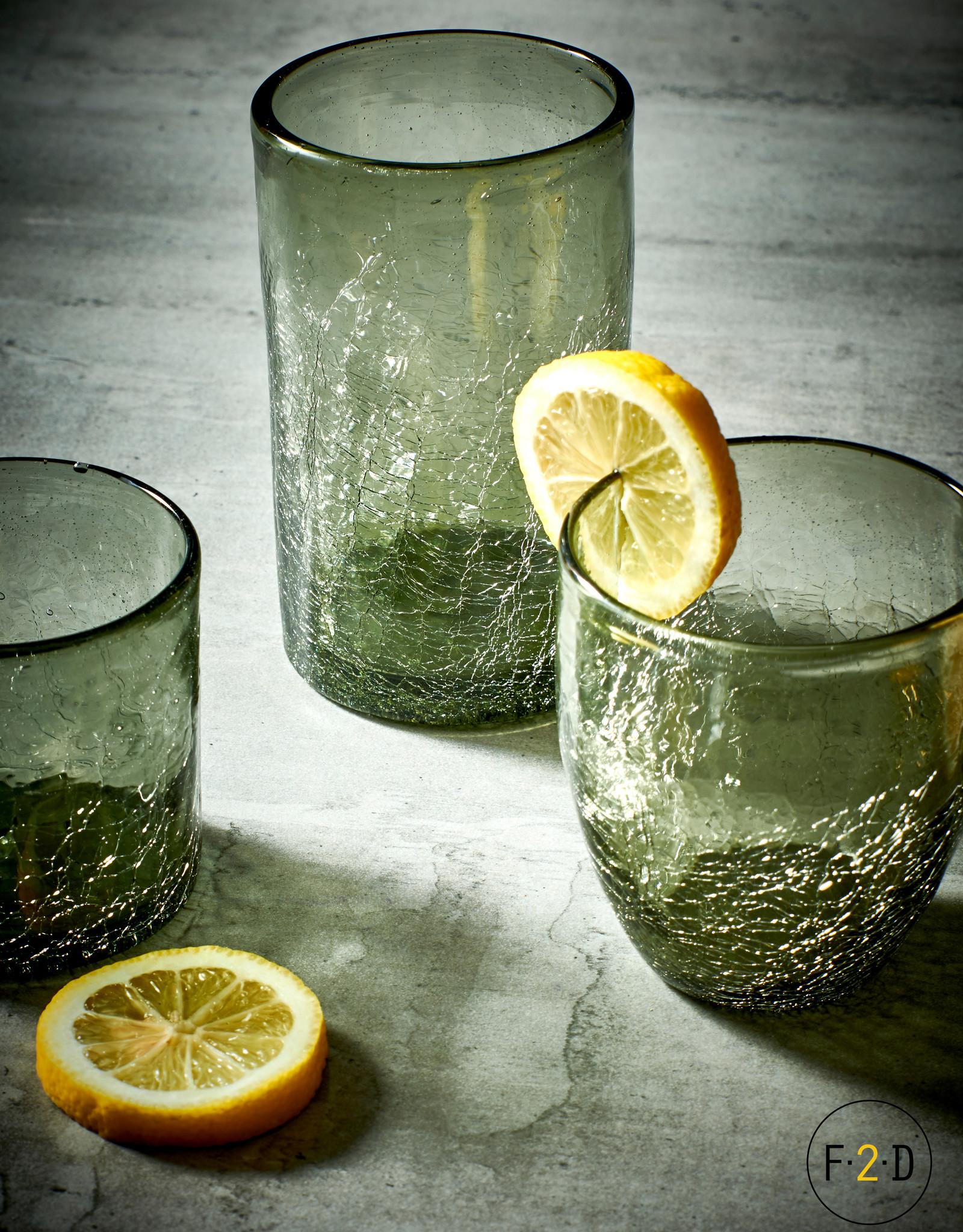 Longdrink Glas 0.40L - Grey Crackle