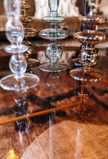 Kandelaar Glass Art Bubbles M - black