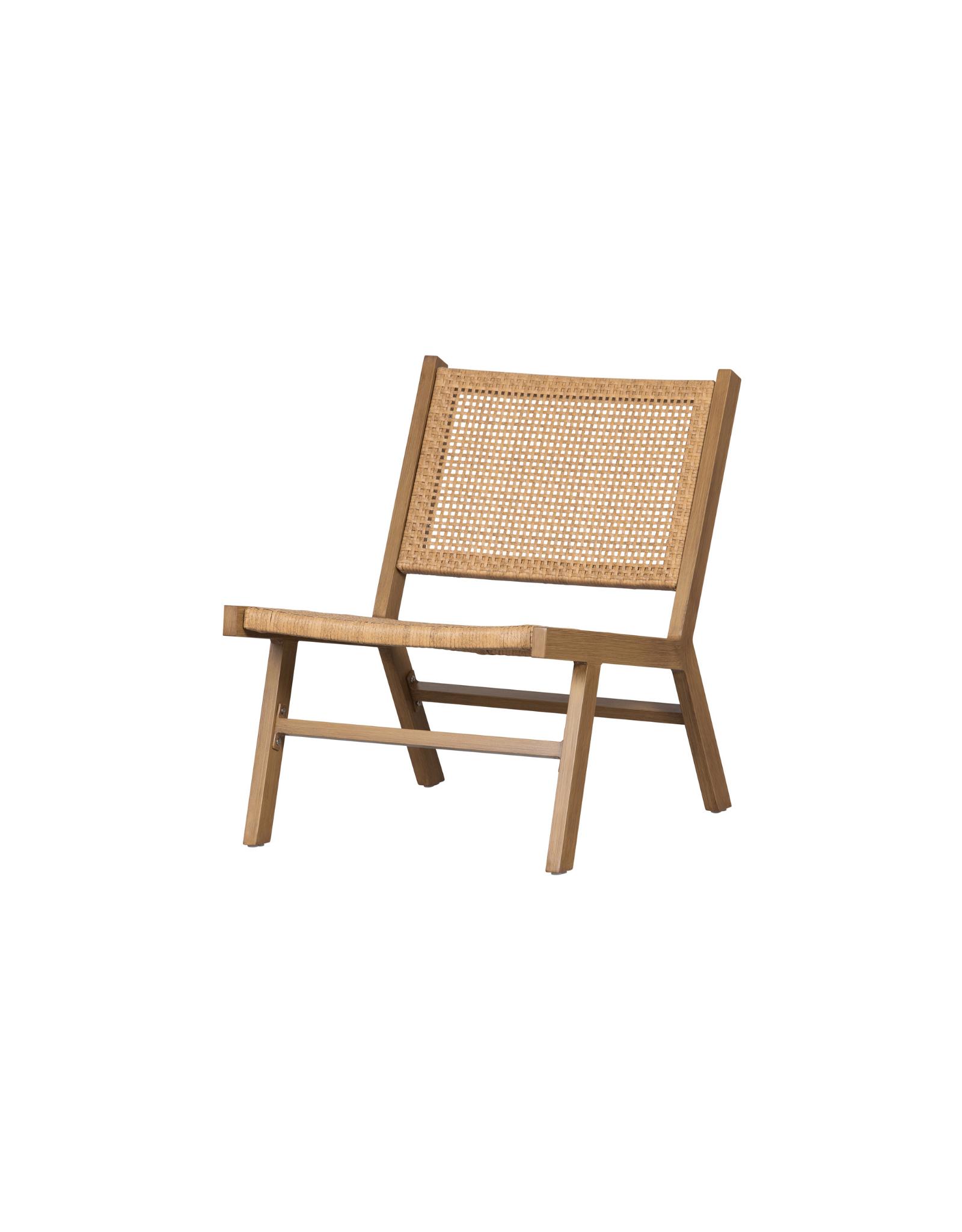 Outdoor Lounge Stoel - naturel