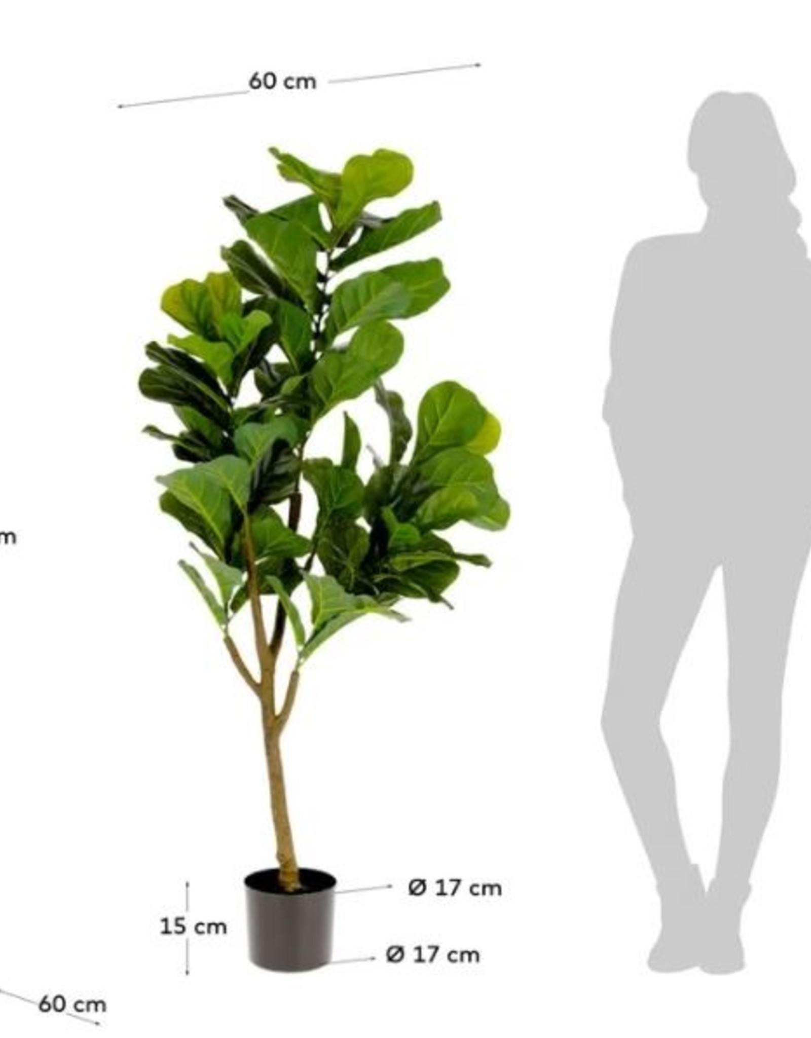 Kunstplant Ficus Lyrata H150 cm
