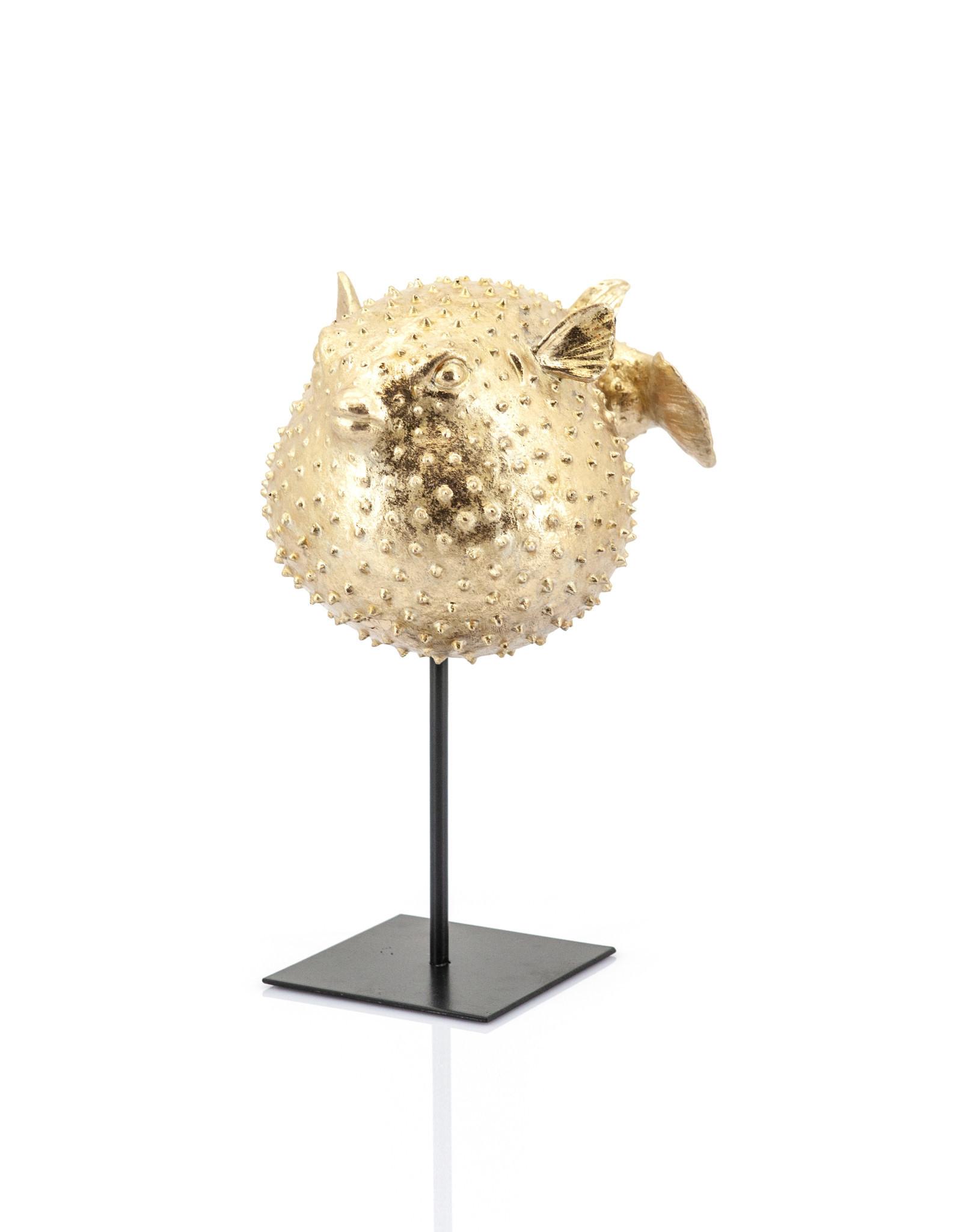 Deco Blowfish - Gold