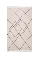 HK Living Handgewoven Vloerkleed Zigzag  150 x 240