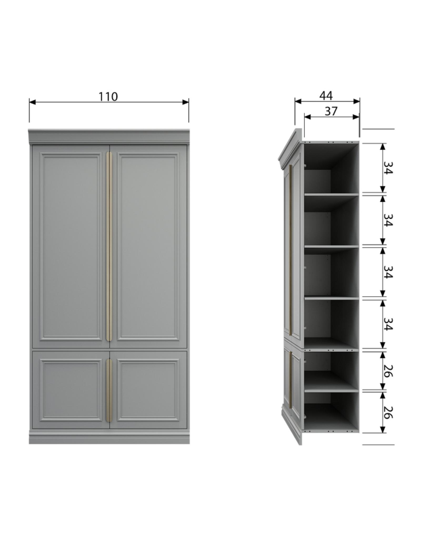 Opbergkast Boutique - diepte 44cm