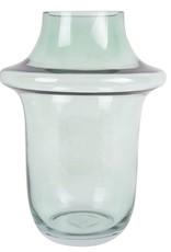 Kandelaar Art Glass Bubbles L - jungle green