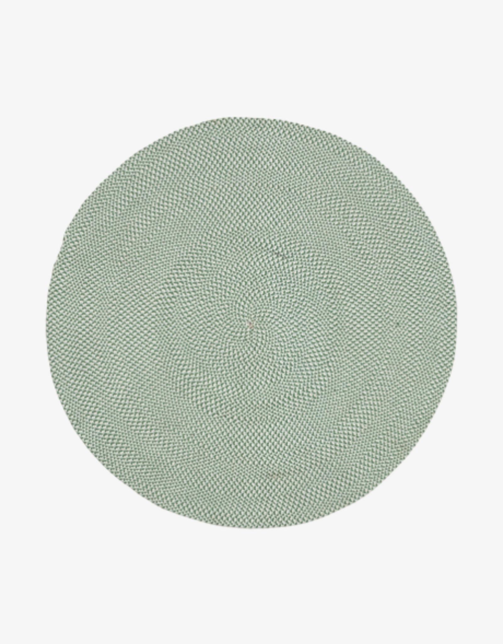 Buitentapijt rond Ø150 cm PET - groen