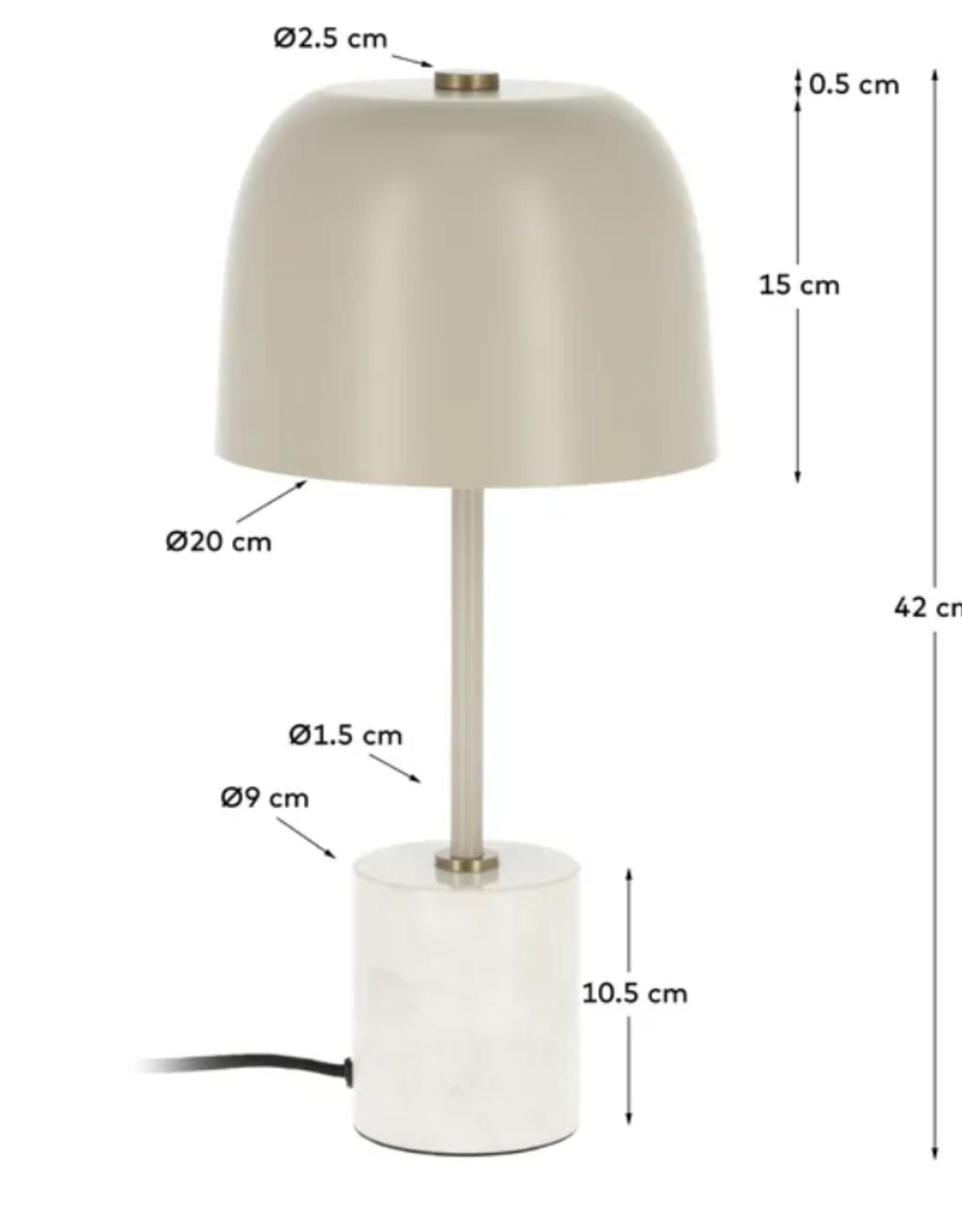 Tafellamp Sand & Marble