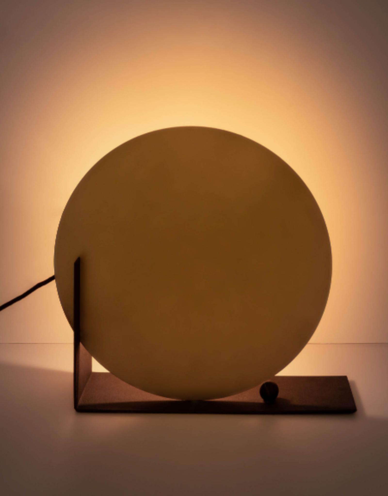 Tafellamp Messing Circle