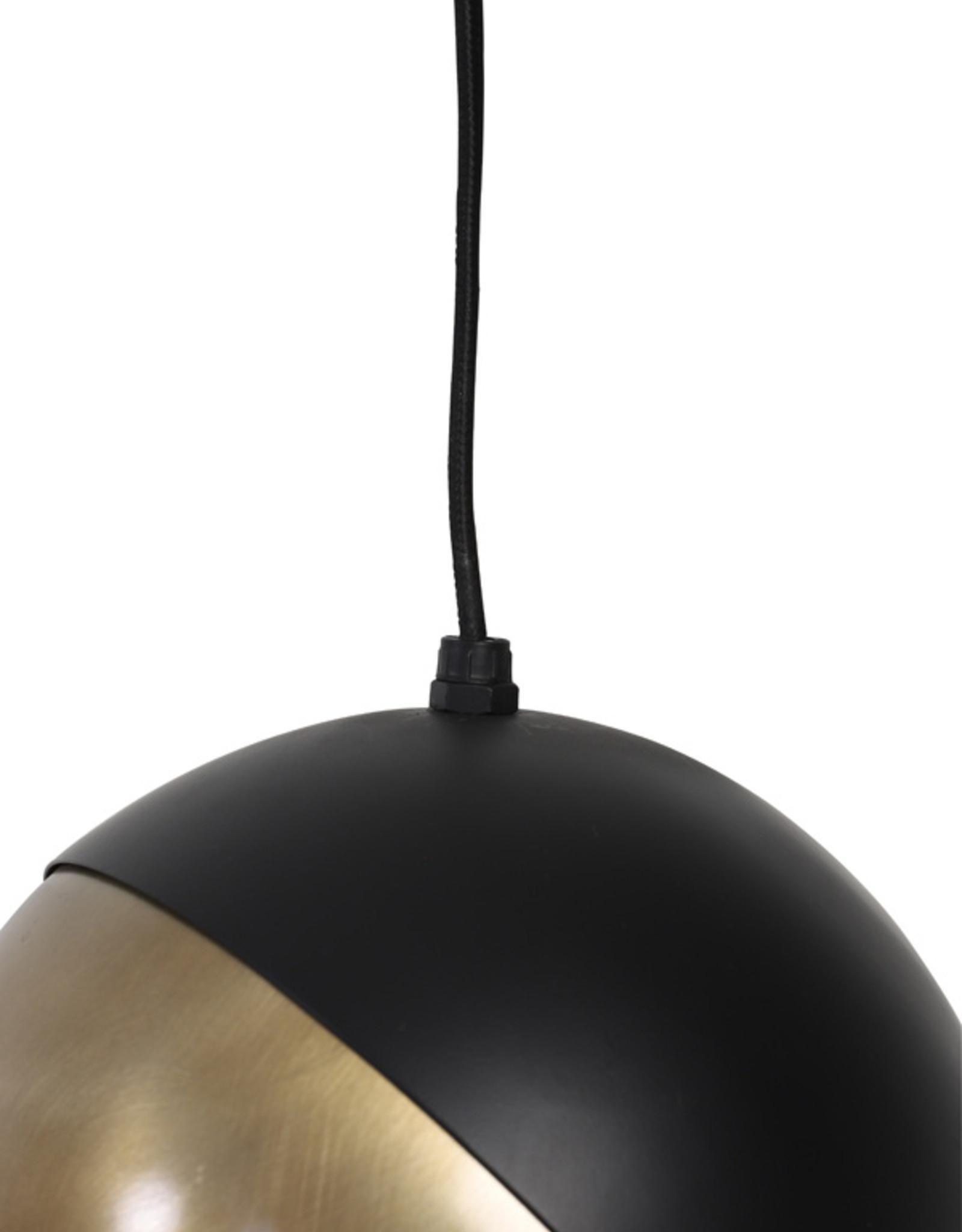 Hanglamp Pacman Black & Gold