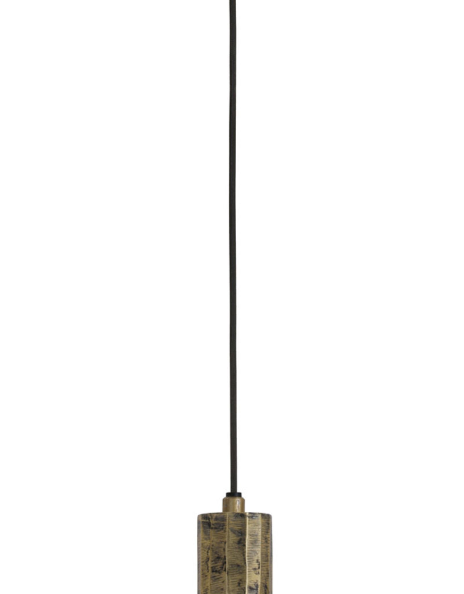 Hanglamp Pendule brons