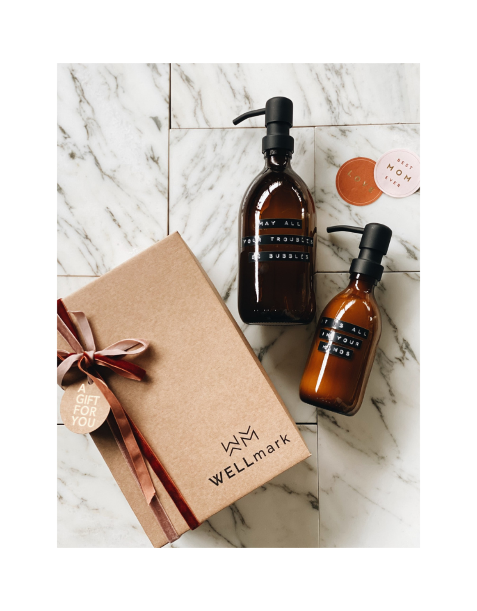 Wellmark Giftbox 2 pieces: Handzeep & Handcrème
