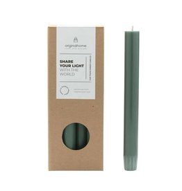 Original  Home Set van 10 eco lange kaarsen - Forest Green