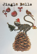 "vanilla fly Kaart ""Jingle Bells"" (incl. envelop)"