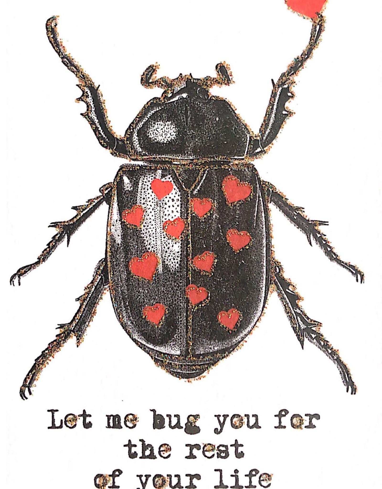 "vanilla fly Kaart ""Let Me Bug You"" (incl. envelop)"