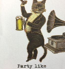 "vanilla fly Kaart ""Rockstar Kitten"" (incl. envelop)"