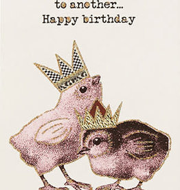 "vanilla fly Kaart ""Happy Bday Chick"" (incl. envelop)"