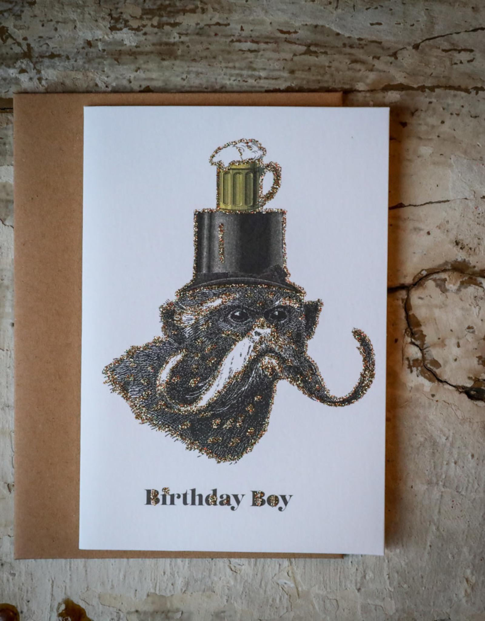 "vanilla fly Kaart ""Birthday Boy"" (incl. envelop)"