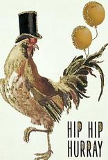"vanilla fly Kaart ""Hip Hip Hooray"" (incl. envelop)"