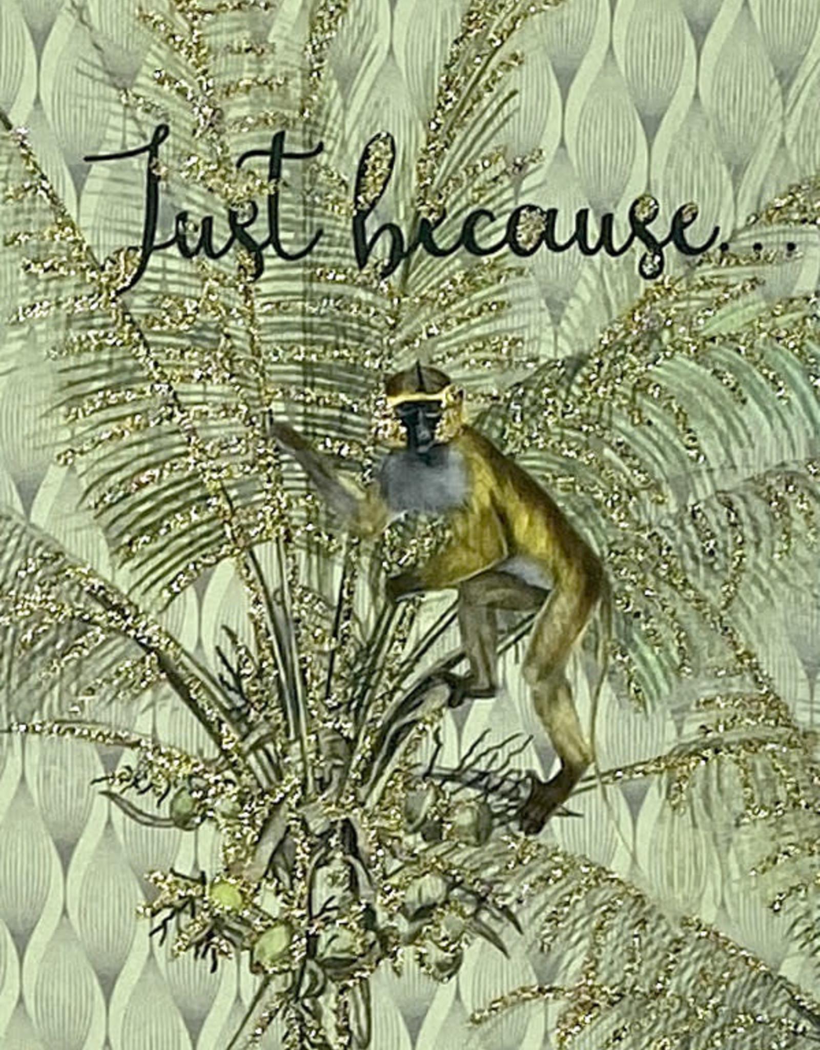 "vanilla fly Kaart ""Just Because"" (incl. envelop)"