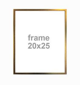 vanilla fly Gouden Kader 20 x 25cm