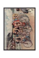 "vanilla fly Poster ""Bike Racing"" 30x40cm"