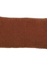 Kussen Teddy 60 x 30 cm - terra