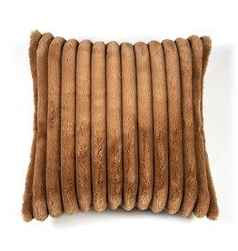 Kussen 50 x 50 cm Soft Rib - terra