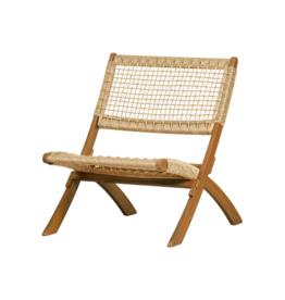 Outdoor Klapstoel Fauteuil hout - naturel
