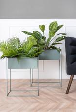 Set van 2 Plant Stands - Jungle Green plantenstandaard