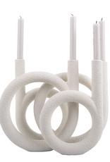 Kandelaar Rings - Ivory