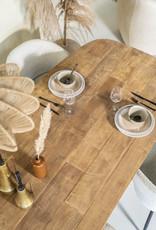 Eettafel Tabassum 260 x 100 cm - recycled teak