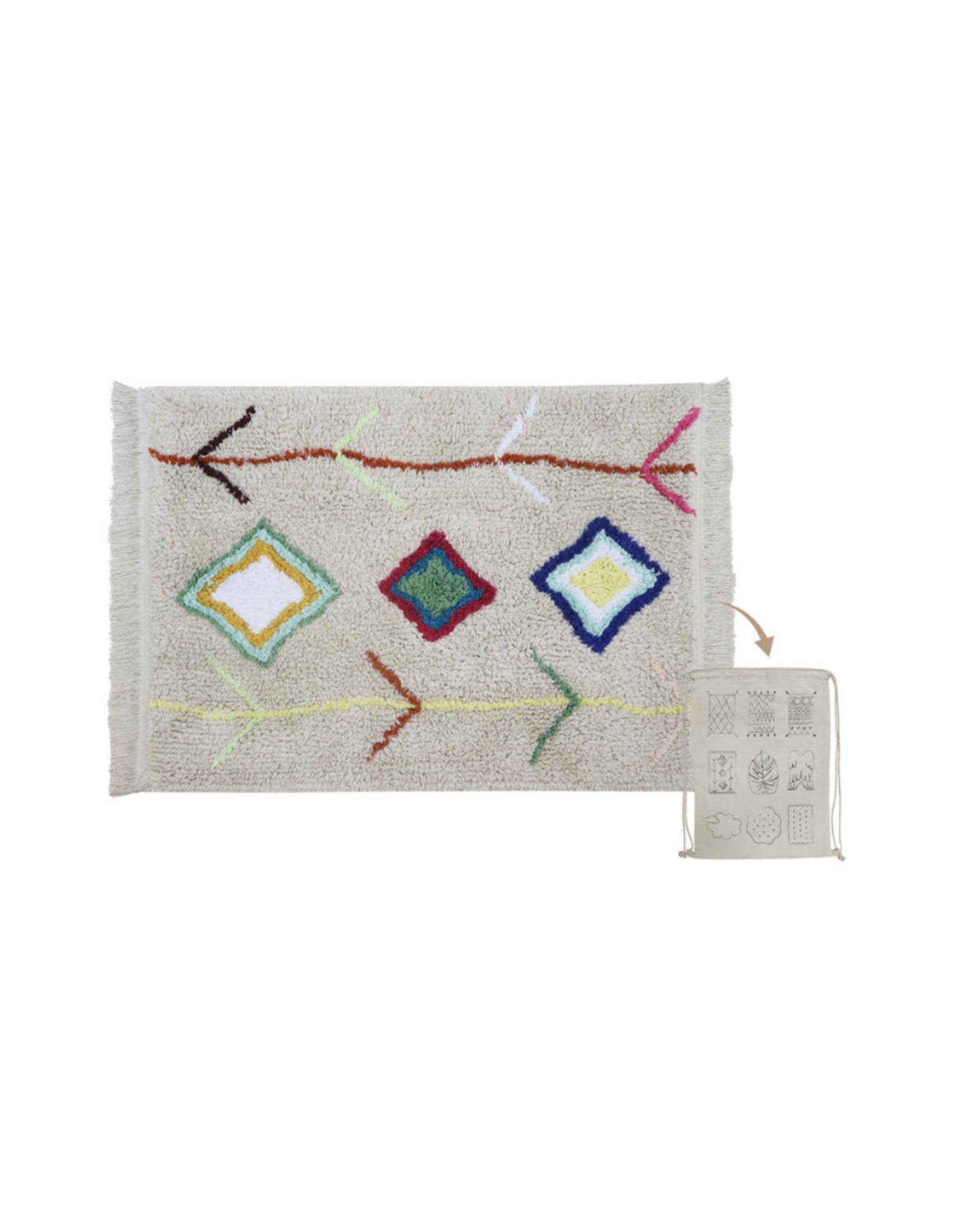 Lorena Canals Vloerkleed Mini Kaarol 70 x 100 cm- Washable katoen