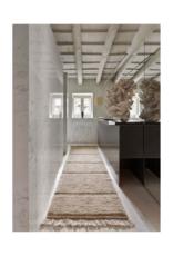 Lorena Canals Vloerkleed Steppe 80 x 230 cm- Woolable Sheep Beige Runner