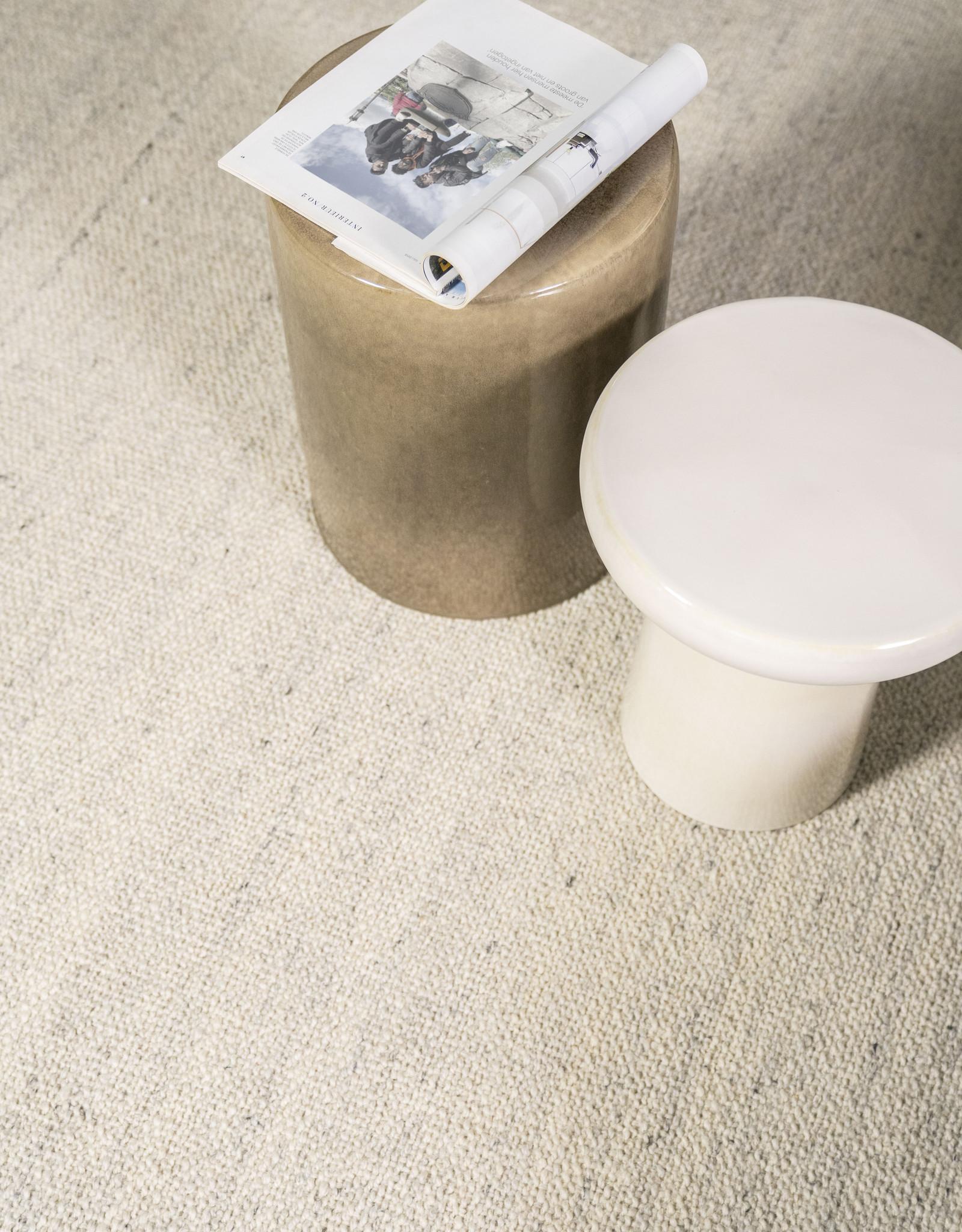 Bijzettafel Ceramics Glaze - crème