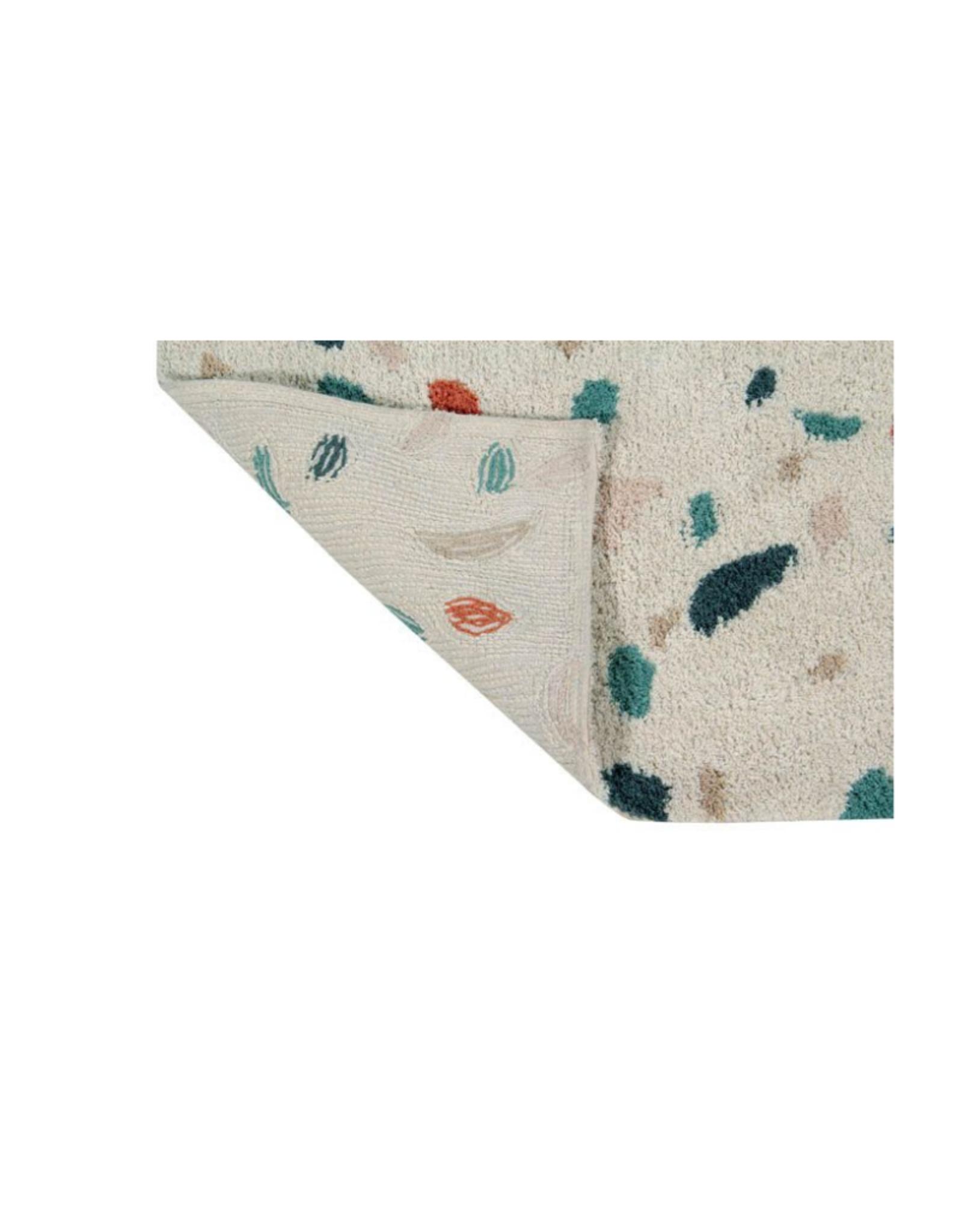 Lorena Canals Vloerkleed Terrazzo Marble 140 x 200 cm - Washable katoen