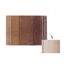 Lorena Canals Vloerkleed Reversible Twin Toffee 170 x 240 cm - Washable katoen