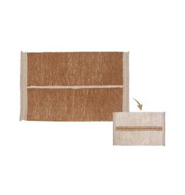 Lorena Canals Vloerkleed Reversible Duetto Toffee 170 x 240 cm - Washable katoen